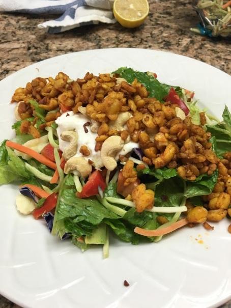 tempeh-salad